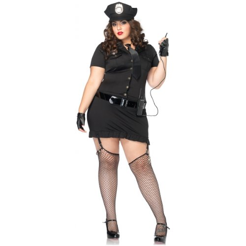 Plus Size Dirty Cop Costumes (Dirty Cop Adult Costume - Plus Size 3X/4X)