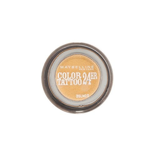 Maybelline Color Tattoo 24Hr Eyeshadow 75 24K Gold by Maybelline by Maybelline New York