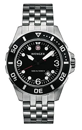 WENGER - Mens Watches - Aquagraph 1000M - Ref. 72236