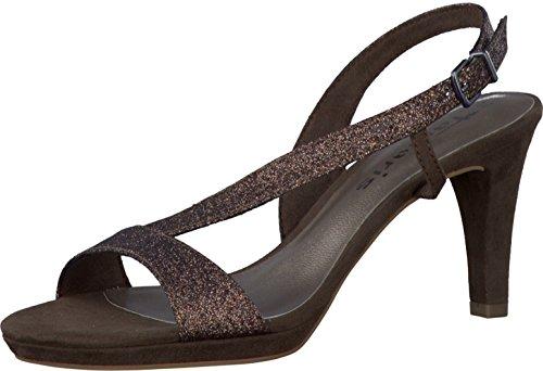 Tamaris - Sandalias de vestir de Material Sintético para mujer BRONCE GLAM