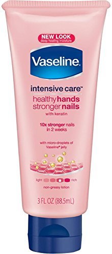 Vaseline Healthy Hand and Nail Conditioning Lotion 3 oz (10 Pack)