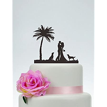 41Q0yeIwmiL._SS450_ The Best Palm Tree Wedding Cake Toppers
