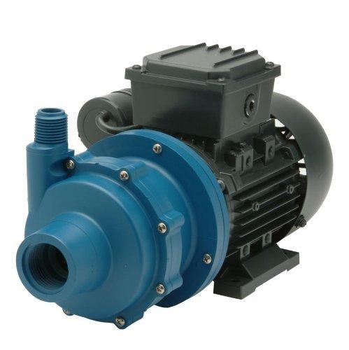 Finish Thompson DB3P-M612 Centrifugal Magnetic Drive Pump, Polypropylene, 1/8 HP, 115V, 1 Phase, 20.4 Max Feet of Head, 15.1 gpm