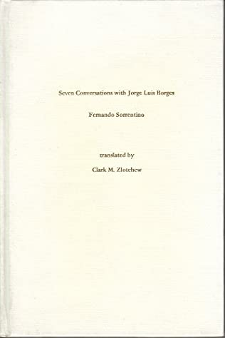 book cover of Seven Conversations with Jorge Luis Borges