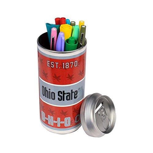 FOCO NCAA Ohio State Buckeyes Soda Can Bank, Team Color, OS ()