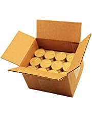 Honey Candles Pure Beeswax Tealight Candle w Cup- Set of 48, 48 Piece