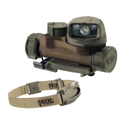 Petzl STRIX IR tactical headlamp Desert by OmniProGear