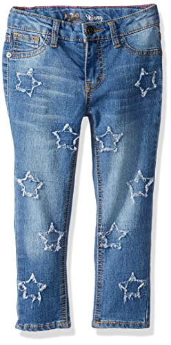 (LEE Girls' Toddler Fashion Skinny Jean, Star Meadow Blu, 2T)