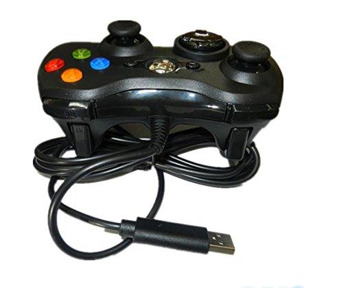 manette de jeu portable adapt/é /à Microsoft XBOX360 noir Upstudio Manette filaire manette de jeu