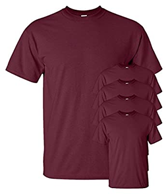 Gildan Men's Ultra Cotton T-Shirt ( Pack of 5 )