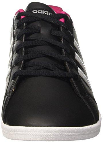 adidas Coneo Qt, Zapatillas para Mujer Negro (Negbas / Ftwbla / Plamat)