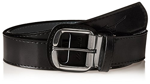 [Mizuno Youth Classic Belt, Black, 31-Inch] (Metal Classic Belt)