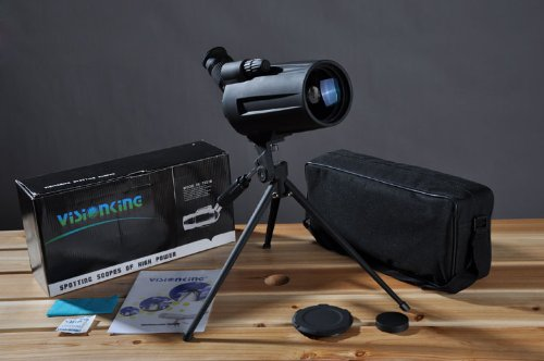 Visionking 25-75x70 MAK(New) Spotting scope BAK4 Waterproof Monocular Telescopes Color Gray