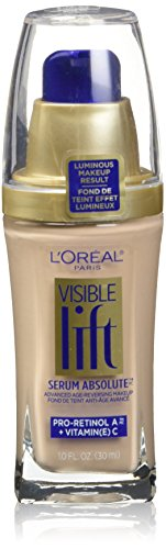 L'Oreal Paris Visible Lift Serum Absolute Advanced Age-Reversing Makeup, Classic Ivory, 1.0 Ounces