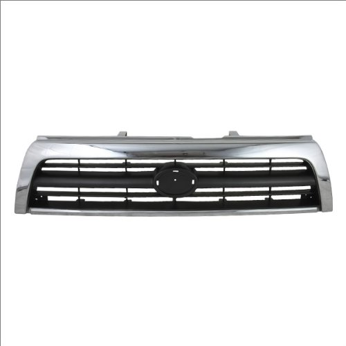 CarPartsDepot, Front V6 Grille Grill Body Part Plastic Replacement New, 400-44258 TO1200202 5311135340?