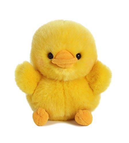 Dewey Duck Rolly Pet 5 inch - Stuffed Animal by Aurora Plush (08822) (Duck Stuffed Animal)