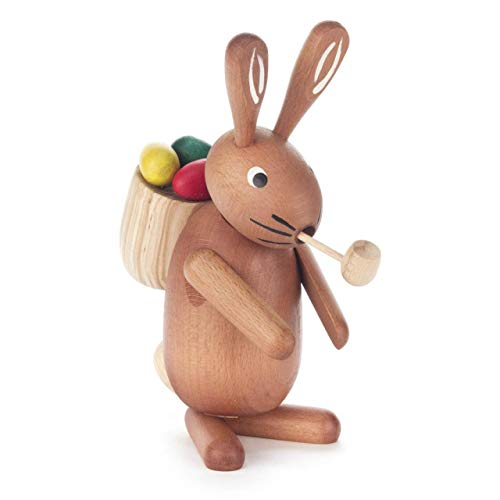 Pinnacle Peak Trading Company Easter Bunny Rabbit German Incense Smoker Handcrafted in Germany Burner New