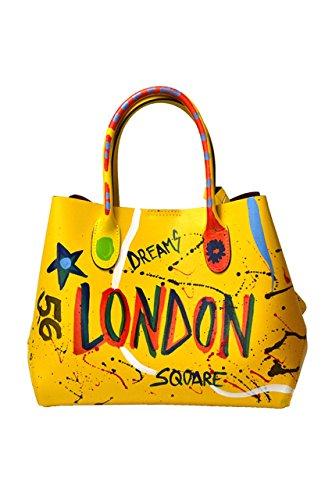 Bag Top Women's 8051p18ib com Yellow handle Luanaromizi tXgq4wt