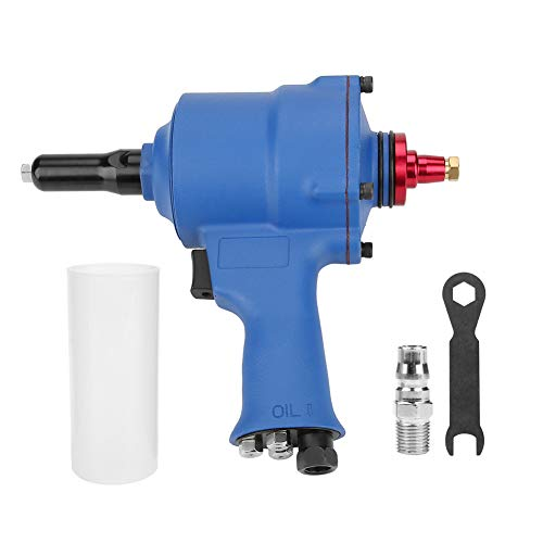 - Akozon Pneumatic Riveter, KP-705X Pistol Grip Rivet Gun Air Powered Riveting Tool 2.4-4.8mm