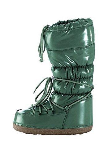 Unbekannt Stiefel - Botas para mujer Verde