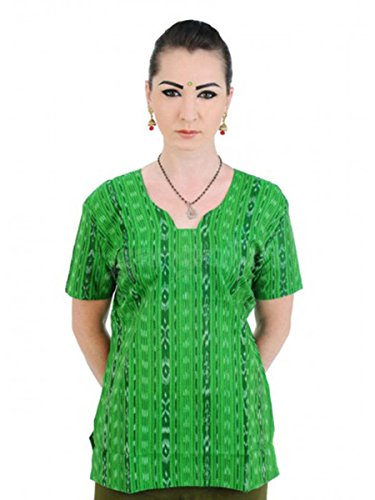 Top Orissa Cotton Light Green