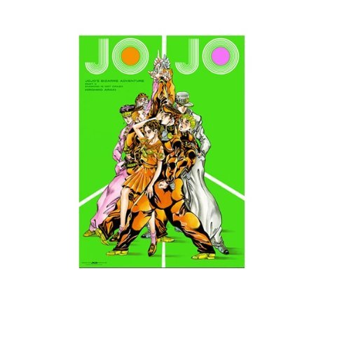 Bizarre Adventure Part 4 JoJo B2 poster Hirohiko Araki JoJo Exhibition Exhibition (japan import)