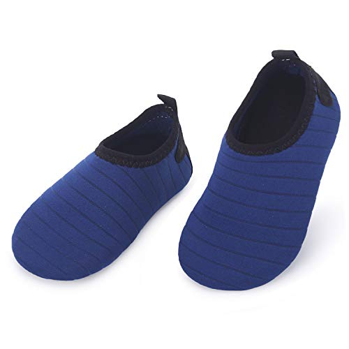 L-RUN Baby Water Shoes Barefoot Skin Aqua Sock Swim Shoes for Beach Swim Pool