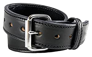 Relentless Tactical The Ultimate Concealed Carry CCW Leather Gun Belt - 2016 Model and Improved - 14 Ounce 1 1/2 inch Premium Full Grain Leather Belt - Handmade in The USA! Black Size 34