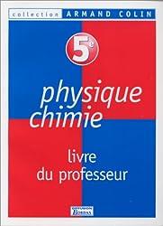 Physique, chimie : 5e. Livret du professeur