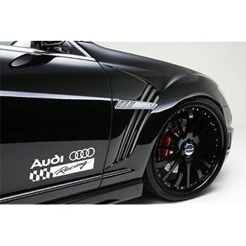 Amazon Com 2pcs Audi Sport Logo Stripes A4 A5 A6 A8 S4 S6 S8 R8