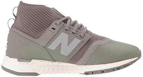 New Balance Frauen WRL247O Lifestyle Schuhe, 38 EUR - Width B, Military Urban Grey/Sea Salt
