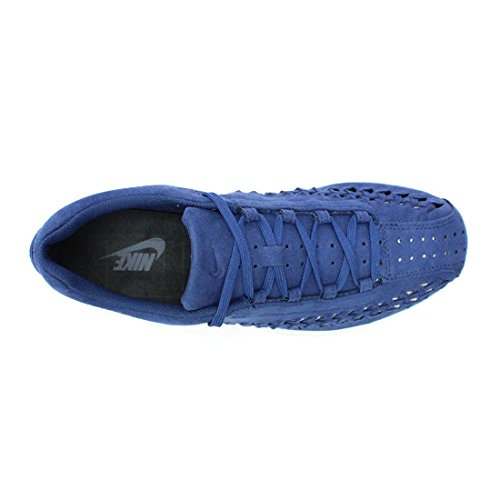 Nike Mens Mayfly Intessuta Pattino Casuale Blu Costiero / Black-off White