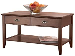 Foremost CFH10222-FMD Sheridan Coffee Table, Walnut