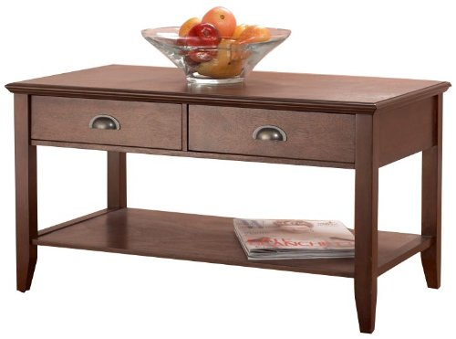Foremost Cfh10222-FMD Sheridan Coffee Table, Walnut Foremost Groups Inc.