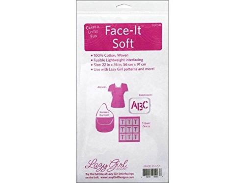 Lazy Girl Design Interfacing 22x36 Face-It Soft Interfacng22x36