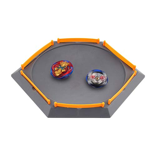 Kanzd Burst Gyro Arena Disk Exciting Duel Spinning Top Beyblades Launcher Stadium (D) -