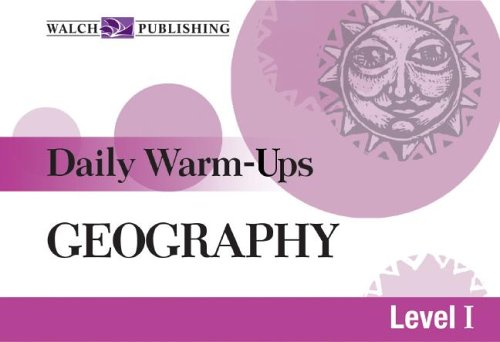Daily Warm-Ups: Geography Level I (Daily Warm-Ups Social Studies)