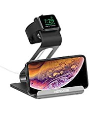 Mercase Apple Watch Stand with Night Stand Mode Charging Stand Bamboo Bracket Docking Station Holder for Apple Watch Series 1 / Series 2 / 42mm / 38mm iPhone 7 7plus 6S 6plus 5 5s