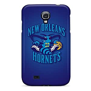 Galaxy S4 HKm2295LTgr New Orleans Hornets Tpu Silicone Gel Case Cover. Fits Galaxy S4