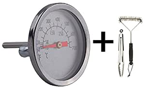 Amazon.com : Replacement Thermometer 60392 Fits Weber ...