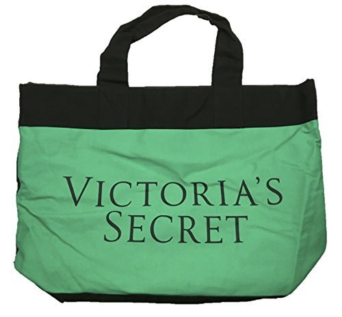 Victoria's Secret Color Block Tote Summer 2015 Teal/blue