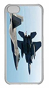iPhone 5C Case, Personalized Custom War Airplane 110 for iPhone 5C PC Clear Case