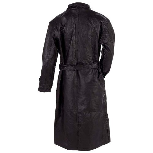 Giovannio Leather Double Breasted Trench product image