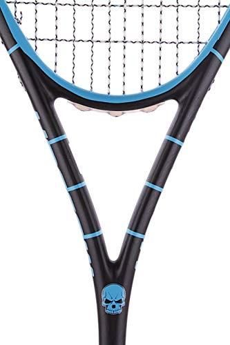 Harrow 65631015 Vapor Squash Racquet, Misfit, Black/Electric Blue