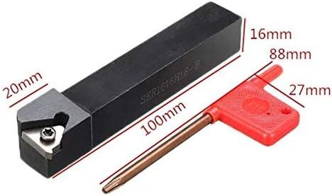 YIONGA CAIJINJIN Lathe Accessories Lathe Index Threading Boring Bar Turning Tool Holder SER1616H16-B Milling Inserts Tool