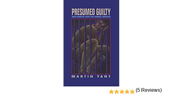 Amazon.com  Presumed Guilty Book