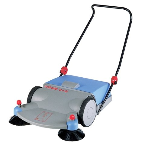 "KranzleUSA Sweeper 2+2 Push Sweeper, 31-1/2"" Cleaning Width"