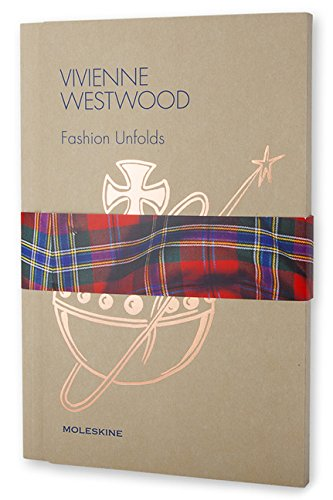 Moleskine - Vivienne Westwood - Fashion Unfolds Altra illustrata DISEGNO ARTI DECORATIVE E MINORI Design