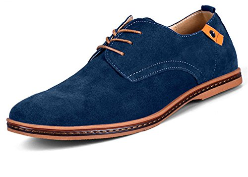 Leather Se Dan Men Casual Hei Suede Men Shoes Mens For Oxford Black Shoes Shoes Xie Loafers UtH646OP