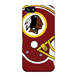 For Jenipper Iphone Protective Case, High Quality For Iphone 5/5s Washington Redskins Skin Case Cover
